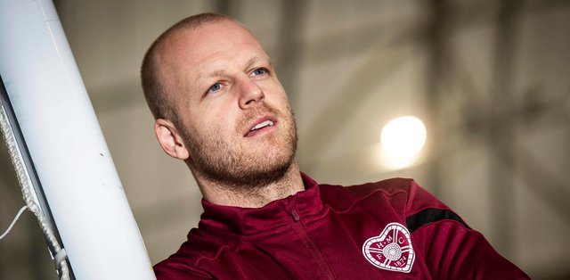 Hearts captain Steven Naismith is coaching the club's youth team.