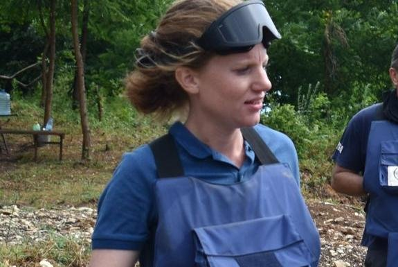 International Women's Day: Meet the Leither clearing landmines in some of the world's most hazardous countries