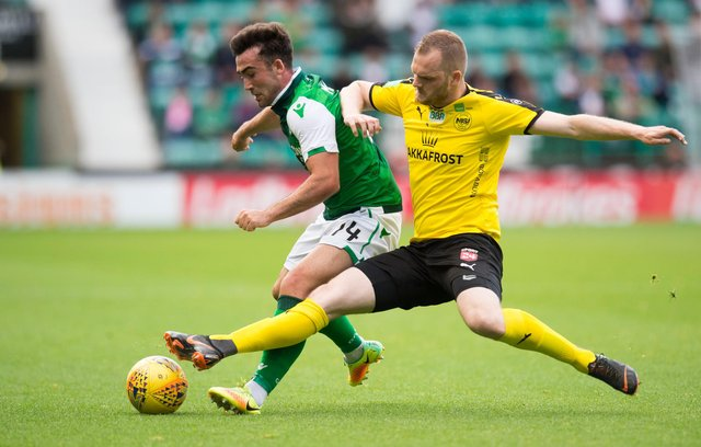 Hibs could again be paired with NSI Runavik of the Faroe Islands