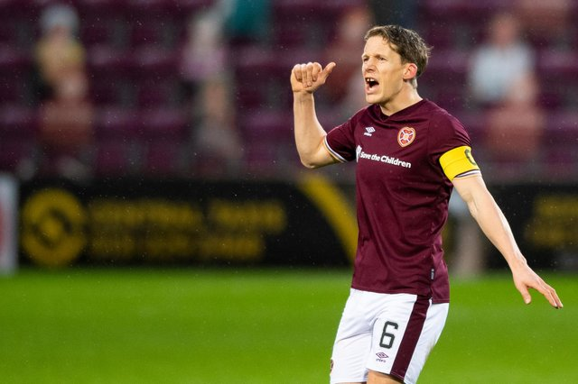 Former Hearts captain Christophe Berra officially left Tynecastle earlier this week following the expiration of his contract. Picture: SNS