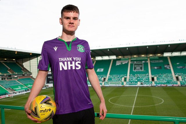 Murray Johnson signed his first professional contract in December and has already been linked with a host of clubs in England