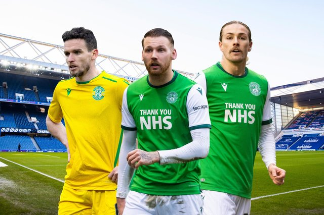 Hibs take on Rangers at Ibrox this afternoon