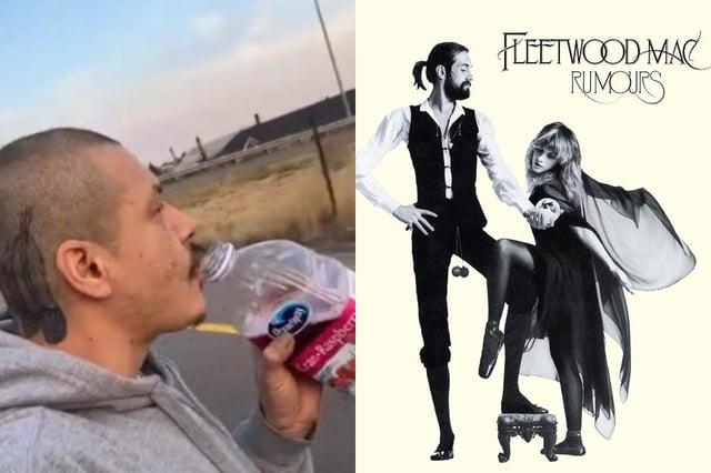 The TikTok video has amassed over five million likes on the video sharing social media platform (Photo: Nathan Apodaca/Fleetwood Mac)