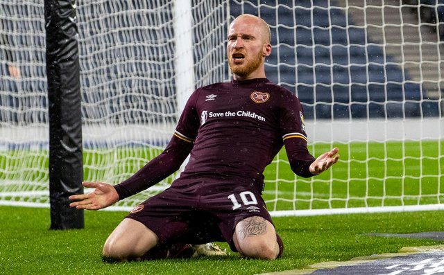 Liam Boyce was crowned PFA Scotland Championship Player of the Year. Picture: SNS