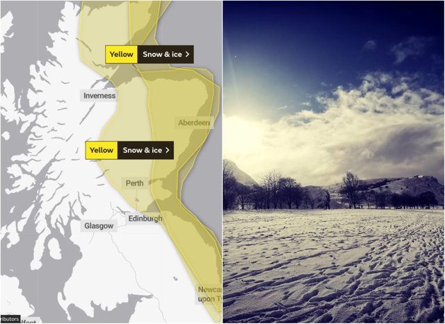 Edinburgh Weather: The Capital will feel the freeze on Friday as temperatures drop below zero