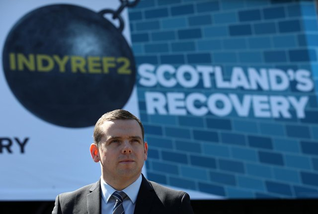 Scottish Conservative leader Douglas Ross will today pledge a £600 million boost for the NHS