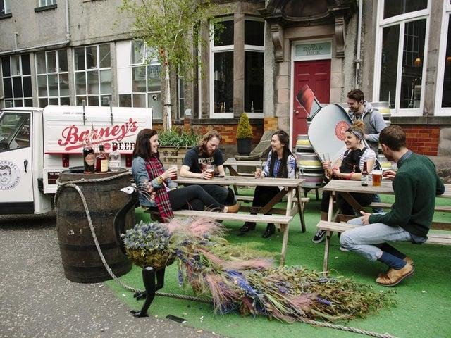 Beer gardens in Scotland are expected to reopen from April 26.
