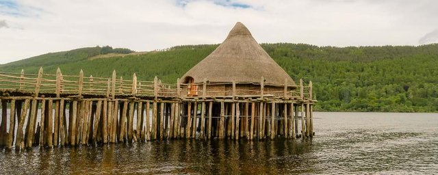 The Scottish Crannog Centre was among 18 community-based projects awarded the sum of £194,349 to share by Historic Environment Scotland's Coast and Waters Heritage Fund last year.