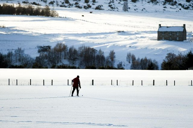 Storm Darcy has brought heavy snow and cold winds from Russia (Getty Images)