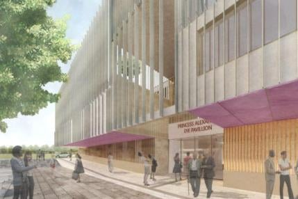 Design work on the new hospital was well advanced before the government said it would not fund the project