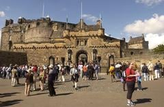 The number of overseas visitors to Edinburgh rose by one million between 2013 and 2019