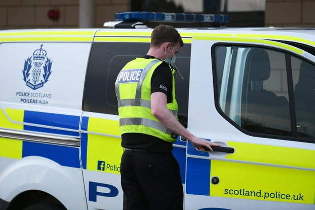 Locals reported seeing police officers at the Meadows on Saturday.