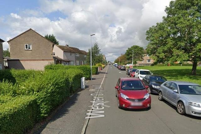 Wester Drylaw Drive where the alleged attempted murder happened.