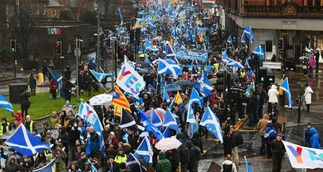 """Appeal court judges said it would be """"premature, hypothetical and academic"""" to rule on the matter when the result of the Holyrood election is not known and there is no independence Bill before the Scottish Parliament."""