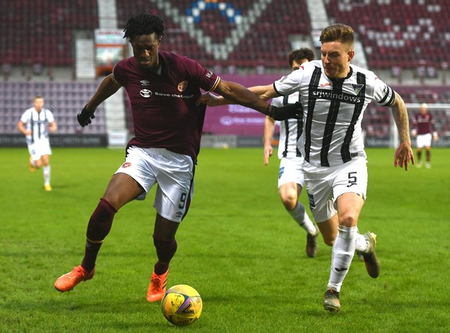 Hearts face Dunfermline in Fife on Saturday knowing a win takes them even closer to the league title. Picture: SNS
