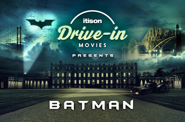 itison announce Batman & Harry Potter Drive In at Hopetoun House for May this year (Photo: itison).