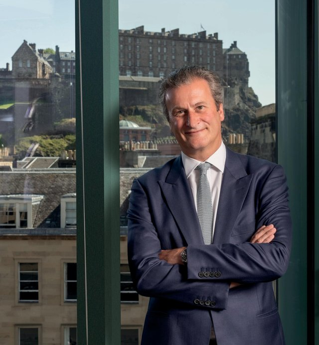 Simon Thomson, CEO of Edinburgh-based Cairn Energy, which won its arbitration case against the Indian government. Picture: contributed.