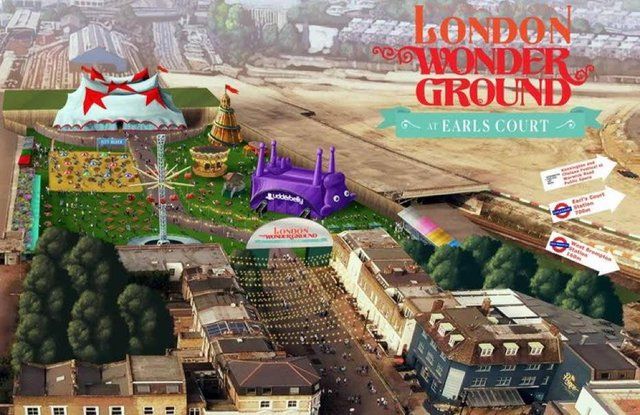 Underbelly announced plans for its new London Wonderground festival today.