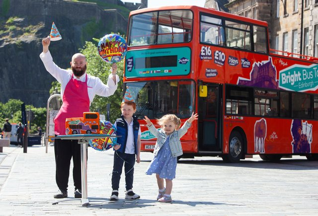Bosses at Bright Bus Tours, which turned two on Thursday, July 1, thought there was no better way to mark the occasion than to share the birthday cheer after the candles on its first birthday celebrations were blown out by lockdown.
