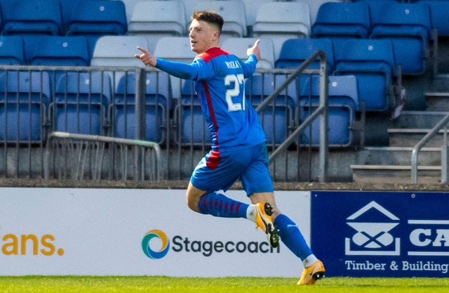 Daniel Mackay has impressed for Inverness CT this season. Picture: SNS