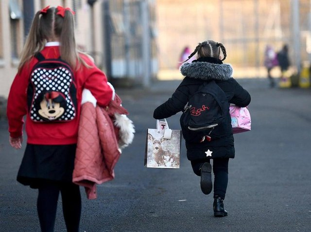 Parents group calls for p7 children to get transition days PIC: Jeff J Mitchell/Getty Images