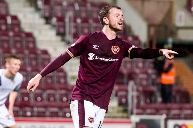 Andy Halliday has been a popular addition to Open Goal's Keeping the ball on the Ground show. Picture: SNS