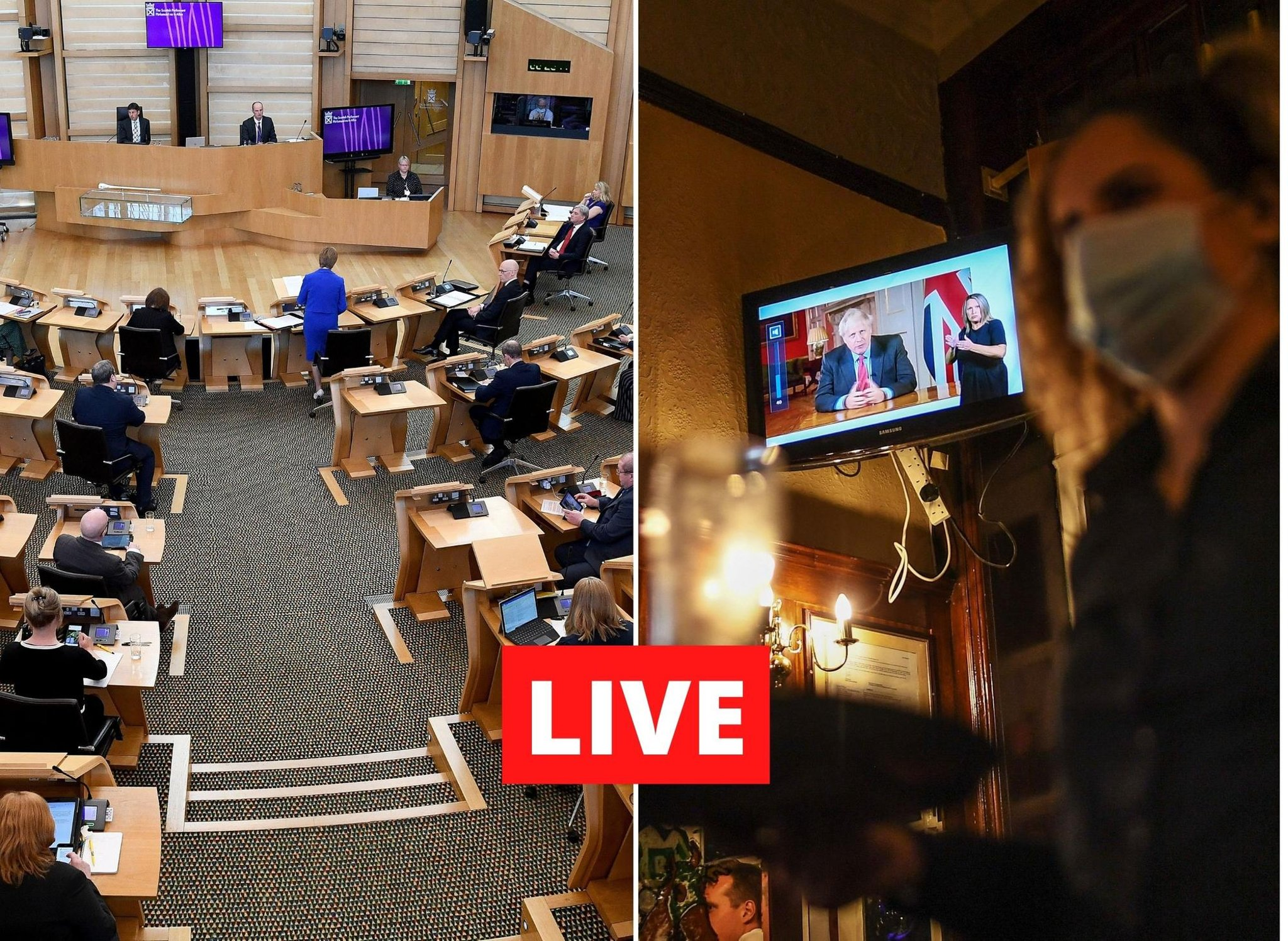 Nicola Sturgeon LIVE: Scottish Government coronavirus briefing led by First Minister