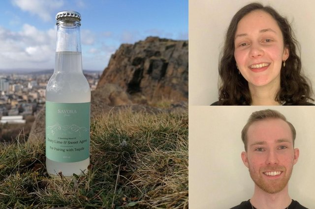 Savora Drinks, launched in April 2021 by business pair Danielle White, 22, and Matthew Walker, hopes to 'rewrite your tequila story' by creating it into a sophisticated long-serve drink (Photo: Savora Drinks).