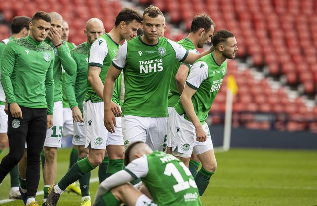 Hibs defender Ryan Porteous apologised to the fans after the defeat by St Johnstone.