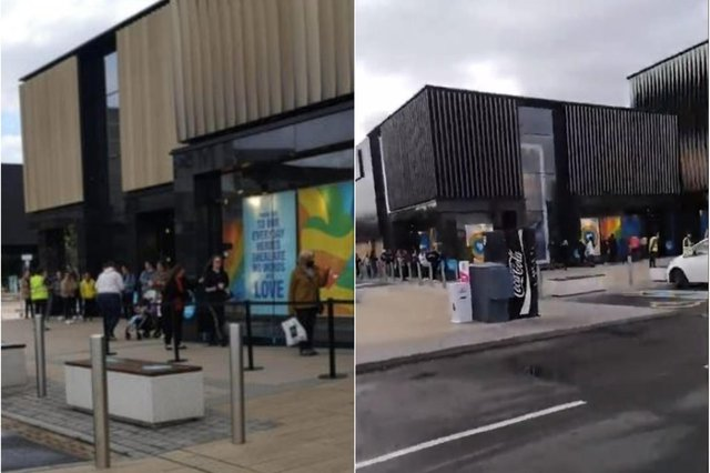 Armed with their wallets, purses and bags for life, many headed straight for Primark, and joined the queue of around 50 people as of 9am on Monday, ready for the upcoming battle at Edinburgh's outdoor retail park.
