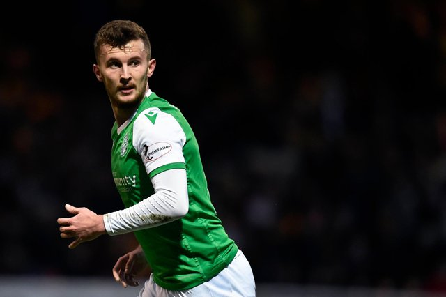 Tom James played just a dozen games for Hibs in two years with the club. Picture: SNS