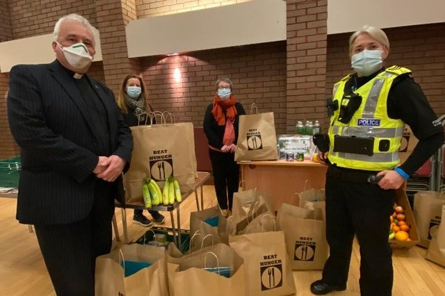 The Beat Hunger campaign was launched on Friday March 12