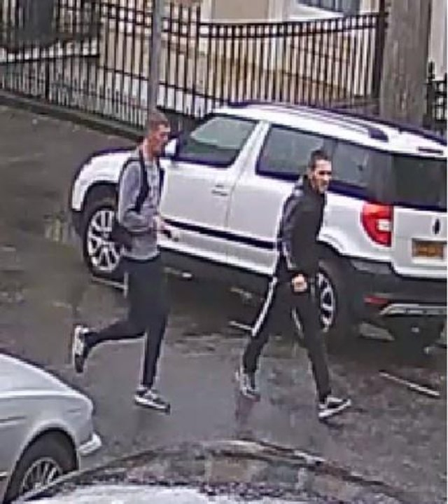 Police believe the two men captured on the CCTV footage could assist with ongoing enquiries into an assault which happened last year (Photo: Police Scotland).
