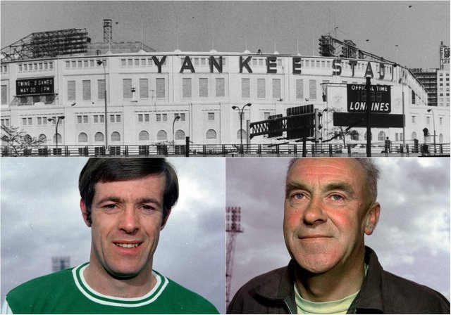 On this day in 1967, Bob Shankly's Hibs team, featuring Pat Stanton and rebranded as Toronto City, played Cerro / New York Skyliners at Yankee Stadium