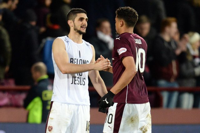 Igor Rossi (left) and Osman Sow during the 2015/16 season. Picture: SNS