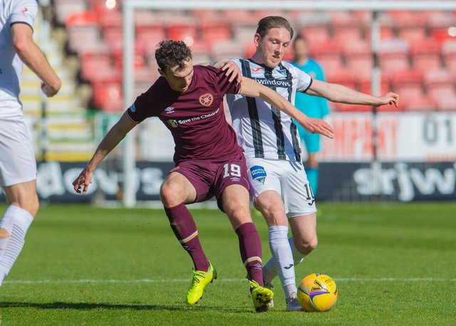 Live coverage of the Championship clash between Dunfermline and Hearts. Picture: SNS