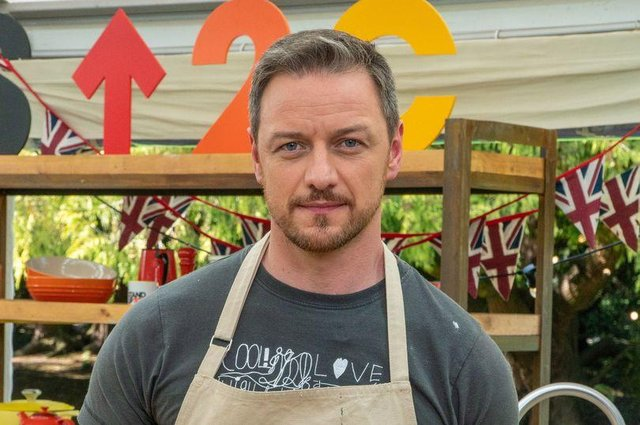 Scottish actor James McAvoy stars alongside Olympic athletes, comedians and singers (Picture: Love Productions/Channel 4)
