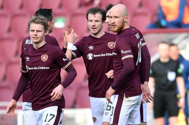 How the Hearts players rated in the win over Dundee. Picture: SNS