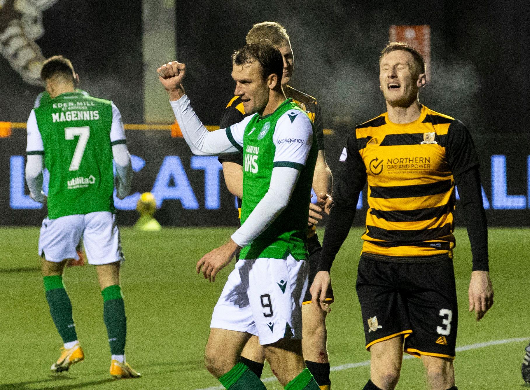 Alloa 1-2 Hibs: Doidge double sends Hibs back to Hampden   Edinburgh News