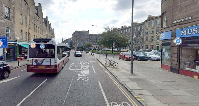 Police Scotland were made aware of a woman, 26, assaulted in St Patrick Street in Edinburgh at around 6.40pm on Friday, April 30 (Photo: Google Maps).