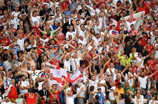 Three Lions found a new life in 2018 when England reached the semi-final of the World Cup in Russia (Getty Images)