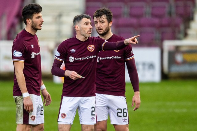 Mihai Popescu, Michael Smith and Craig Halkett have helped Hearts improve defensively.