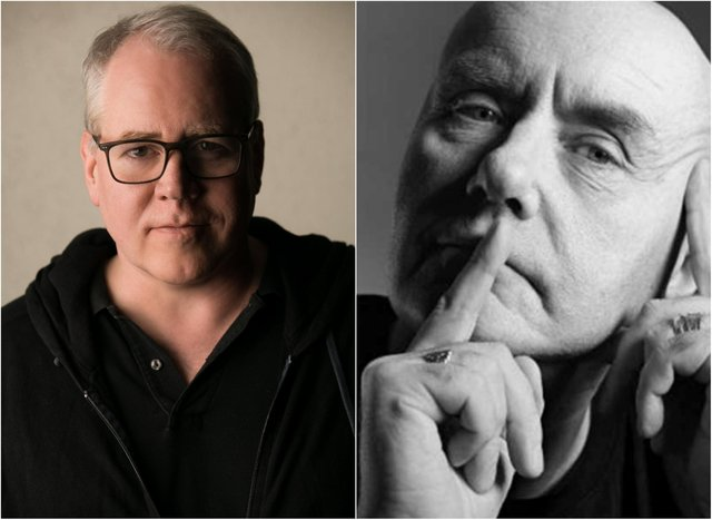 Trainspotting writer Irvine Welsh and American Psycho author Bret Easton Ellis are in final talks to co-create a dramatised series based on the national tabloid press culture in the USA.