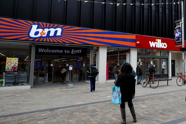 B&M has become a familiar sight on UK high streets and retail parks. Picture: Nick Potts/PA Wire
