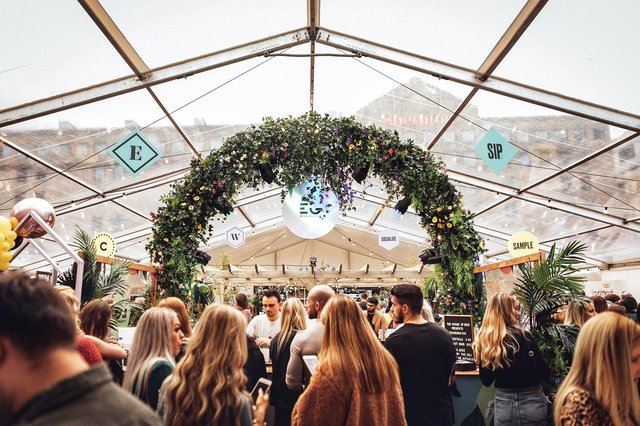 Edinburgh Cocktail Week is coming back to Scotland's capital this October, extending its presence in the city over two weeks with 100 participating bars around the city and its largest cocktail village at Festival Square featuring 20 pop-up bars, street food and live music.