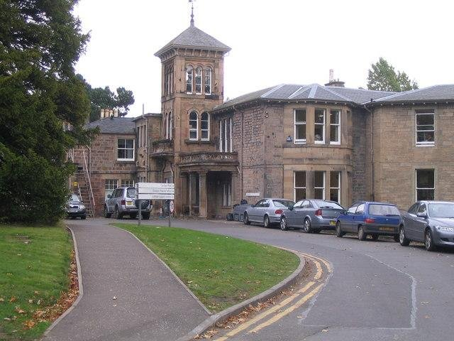 Astley Ainslie Hospital, which will could be affected by cuts to rehabilitation services.