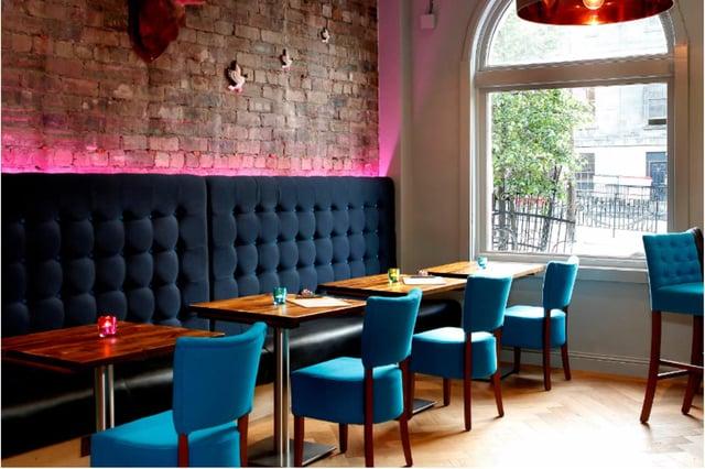 The interior of Edinburgh bar CC Blooms