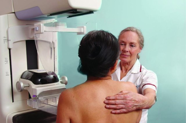 Breast cancer screening can detect tumours even when there are no outward signs they are there