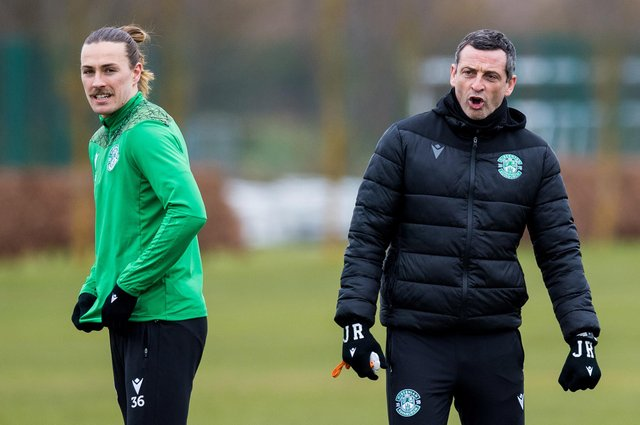 Hibs manager Jack Ross wants to get an idea of Jackson Irvine's long-term plans as the Easter Road club plan for next season. Photo by Ross Parker / SNS Group