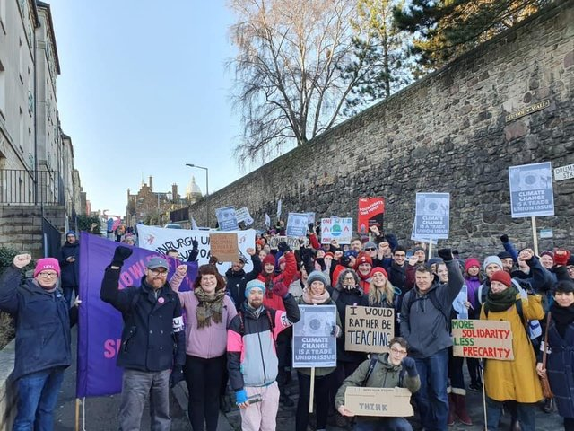 UCU branch at the University of Edinburgh demands staff stop being coerced into unsafe on campus activity